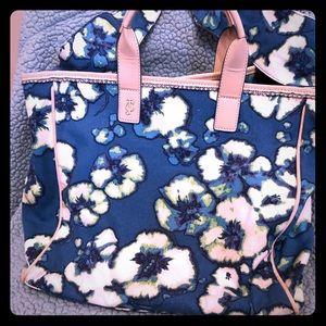 Juicy Couture blue floral handbag